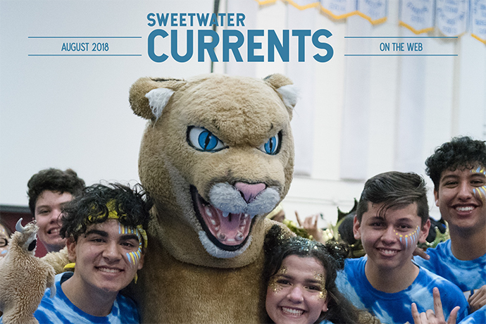 Sweetwater Currents website - August 2018