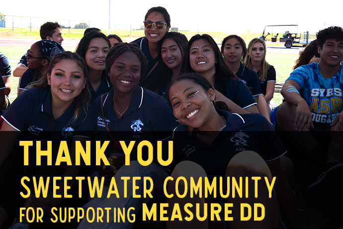 Thank You Sweetwater Community for supporting Measure DD