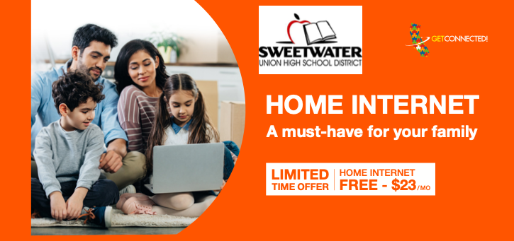 The Federal Communications Commission started a temporary program to help eligible families pay for Home Internet service during the COVID-19 Pandemic. The Emergency Broadband Benefit (EBB) includes up to $50 a month discount on Internet service.